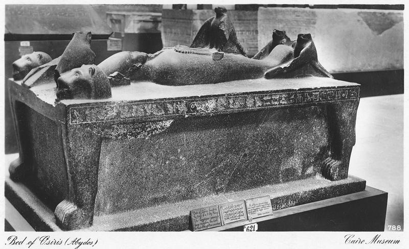 Osiris_bed_Cairo_museum