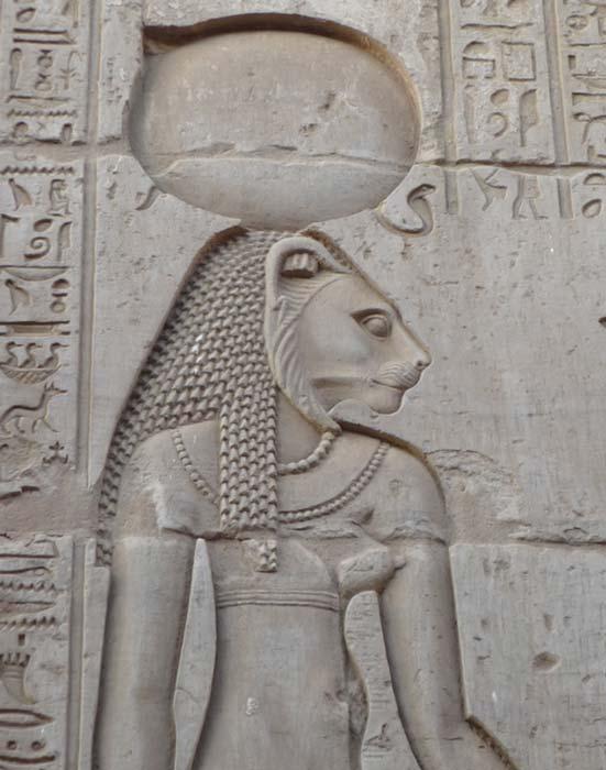 rilievo_Sekhmet_tempio_KomOmbo_Egitto