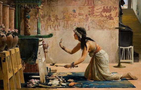 Una memoria olfattiva: i profumi e gli incensi nell'antico Egitto