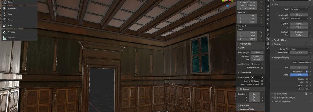 La costruzione 3D dello Studiolo di Belfiore