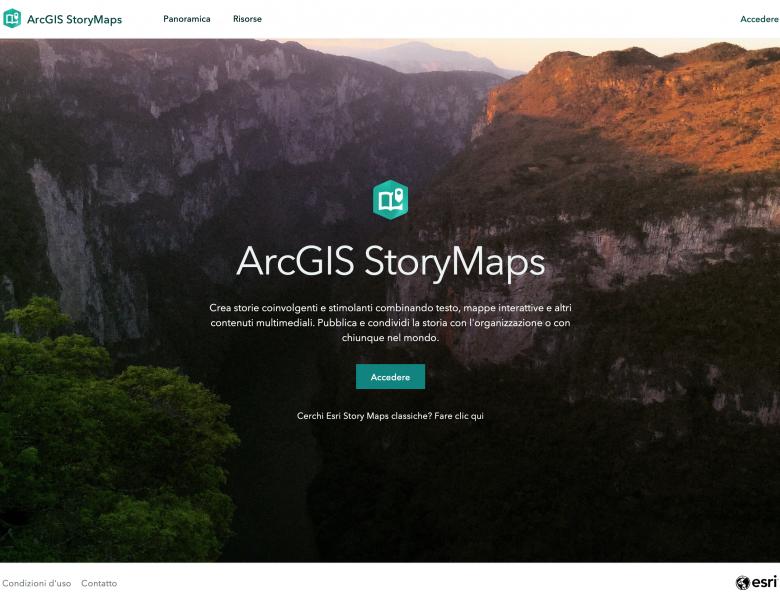 Il Digital Storytelling attraverso le StoryMap