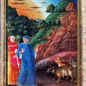 La Divina Commedia di Federico da Montefeltro della biblioteca urbinate